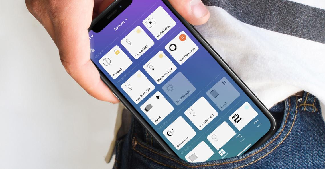 Få hele ditt smarthus inn i en app med Homey