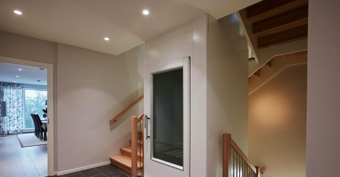 Trappegang med Unilamp belysning