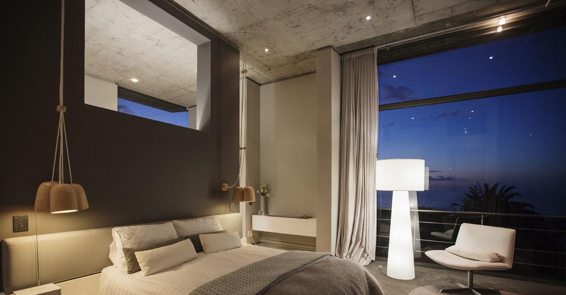 Planlegg belysningen på soverommet godt