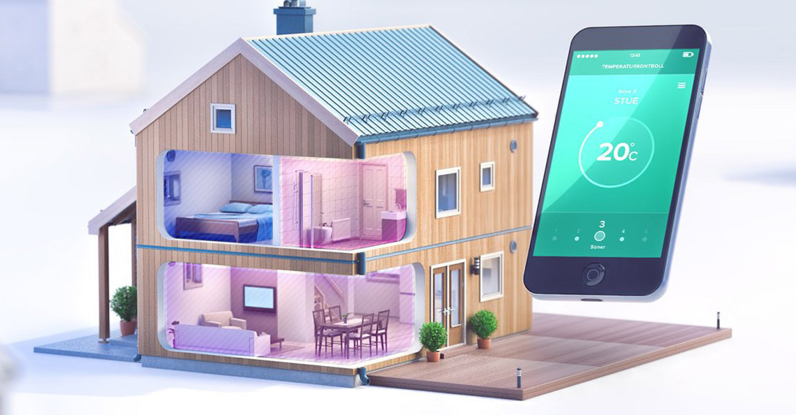 Elektrisk varmestyring er enkelt og gøy med smarthus