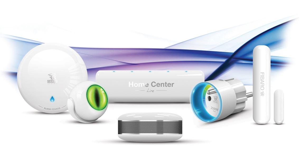 Fibaro smarthus-sensorer