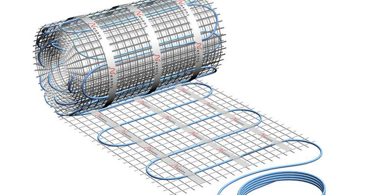 Varmekabelmatte - nett med varmekabler i for rask utrulling
