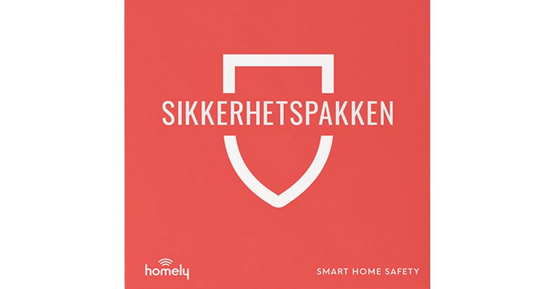 Homely sikkerhetspakke m/3mnd abonnement - les mer her