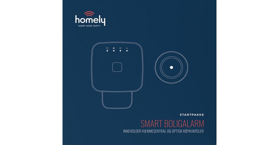 Homely Startpakke m/3mnd abonnement - les mer her
