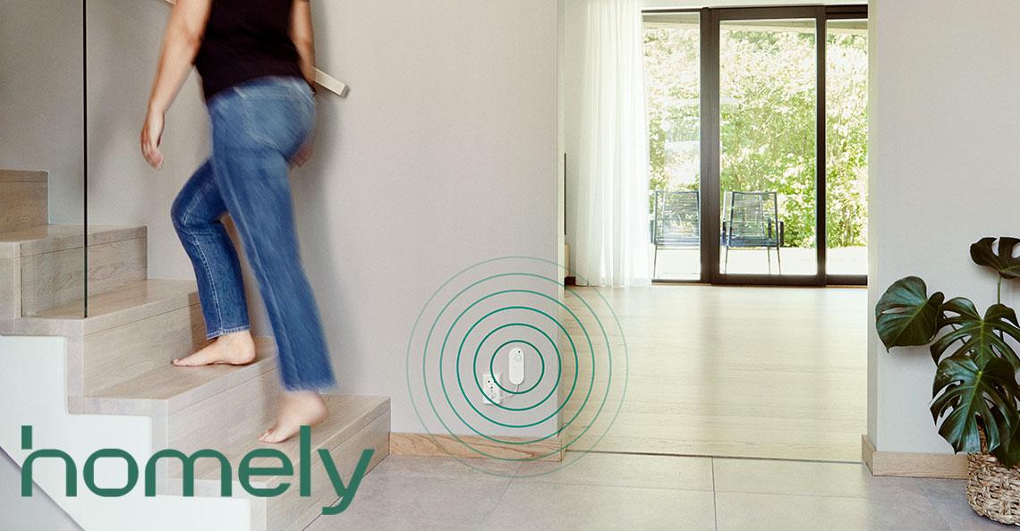 Homely gir deg smart sikkerhet. Helt enkelt.
