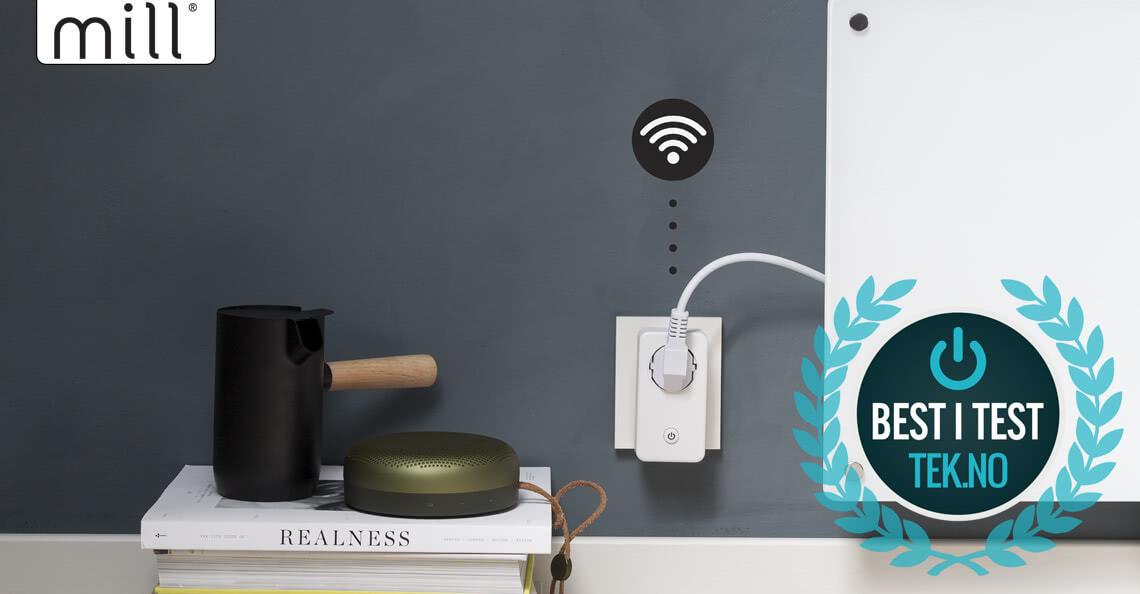 Mill WiFi socket – enkel vei til smart varmestyring og lavere strømregning