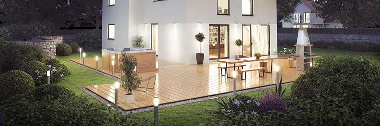 Artikkel om oppussing og renovering av garasje og uteområdet
