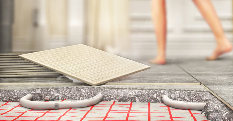 Gulvvarme er ikke bare behagelig i gangen - det er også veldig praktisk