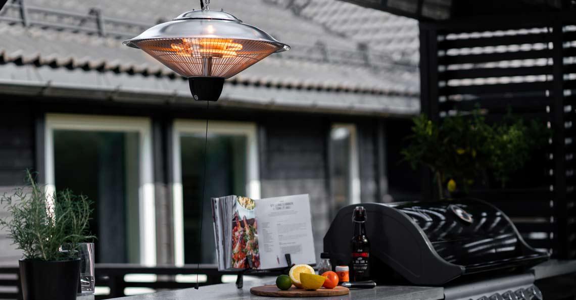 En god terrassevarmer kan forlenge de hyggelig utekveldene