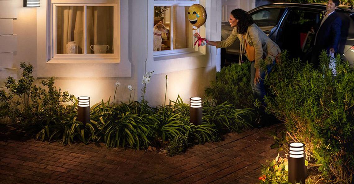 Philips Hue utendørsbelysning
