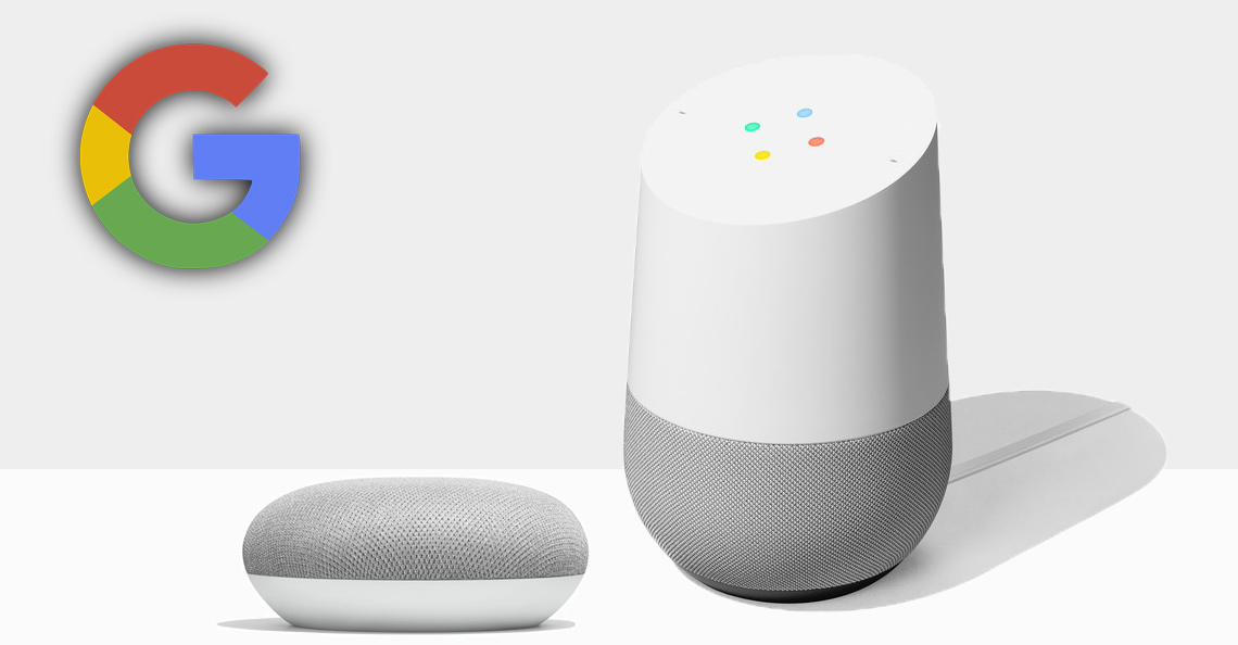 Google Home og Home mini