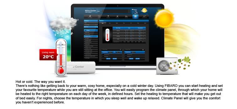 Fibaro HC Lite varmestyring