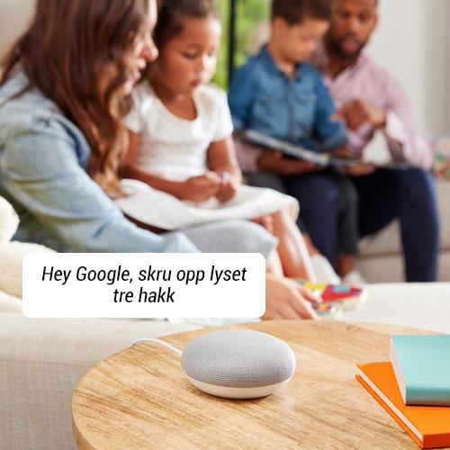 Styr Hue lys med Google Home