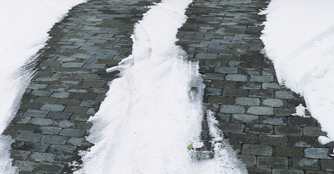 Varmekabler sikrer at oppkjørsel, trapp eller inngangsparti er snø- og frostfritt hele vinteren