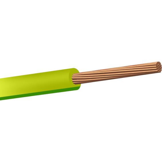 RK 750V 10mm² Gul/Grønn Snelle 50m