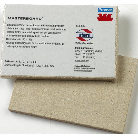 MASTERBOARD 6MM 1200X600MM