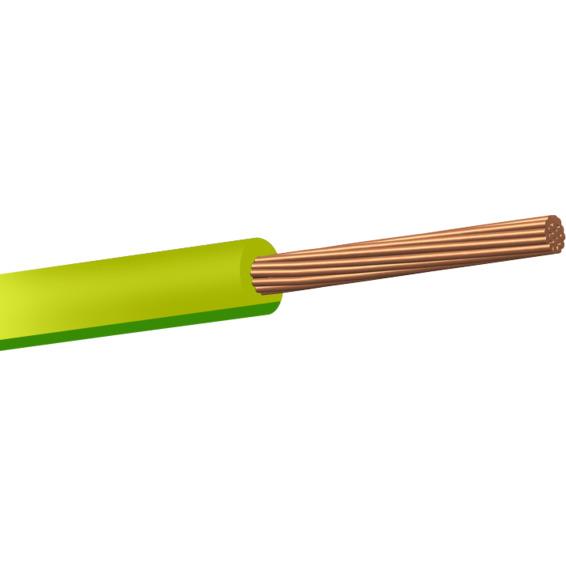 RK 750V 2,5 Gul/Grønn Snelle