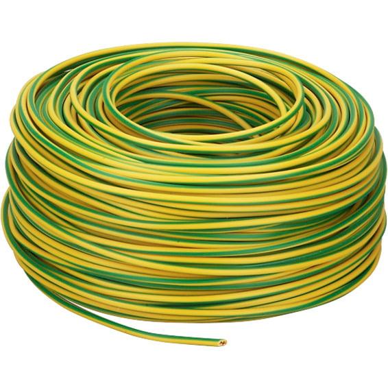 PN 2,5mm² Gul/Grønn Snelle