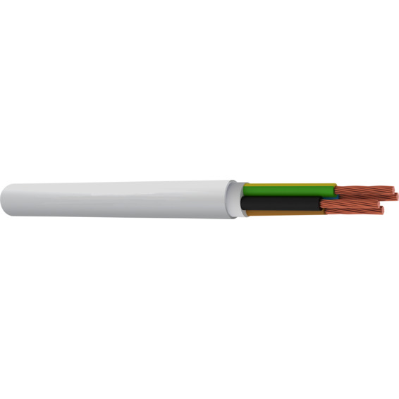 TFXP MR Flex 5G2.5mm² Hvit UV