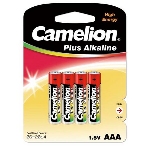 Batteri alkalisk LR03/AAA  4 Pk Camelion