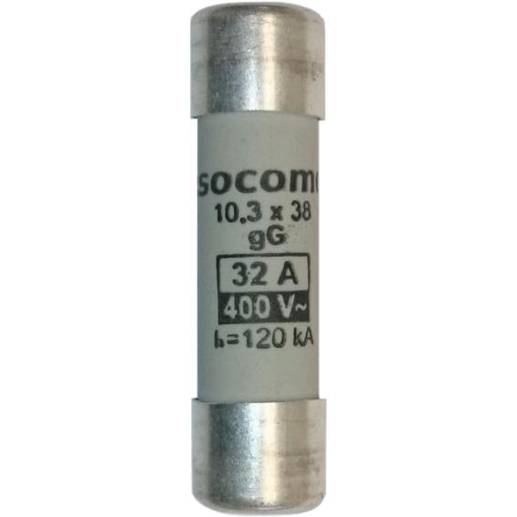 Sikring 32A gG 400V 10x38mm