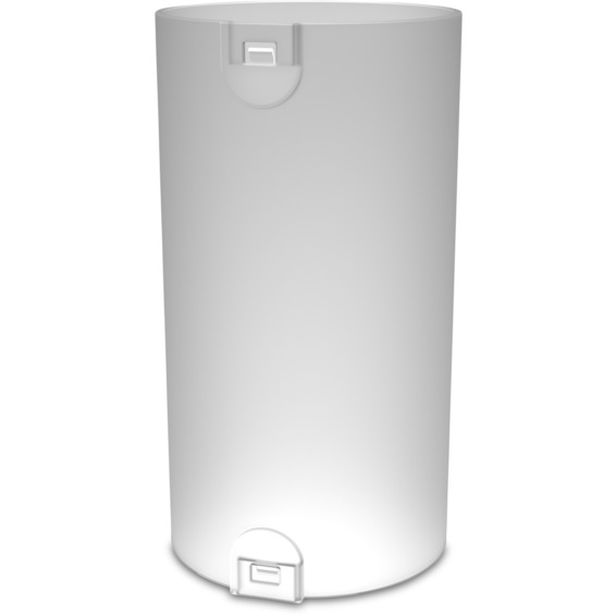 Skjøtemuffe 32mm med lås LSZH hvit