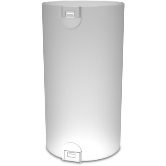 Skjøtemuffe 40mm med lås LSZH hvit