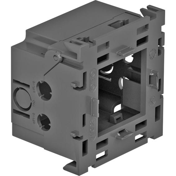 Kanal GK installasjonsboks enkel med baklokk modul45 OBO