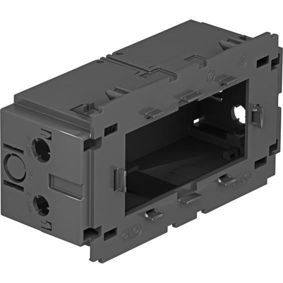 Kanal GK installasjonsboks dobbel med baklokk modul 45 OBO