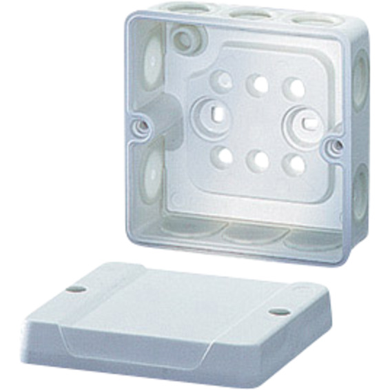 DE 9331 Koblingsboks tom IP55 med membraner