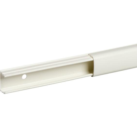 Schneider Minikanal 1 rom hvit PVC OL1220