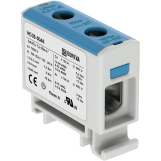 Klemme isolert OTL 1x1,5-50mm² AL/CU Blå