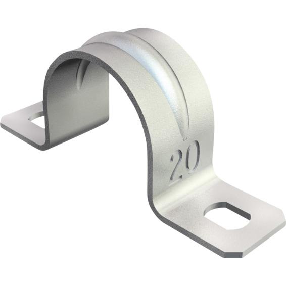 Sadel 23mm Galvanisert