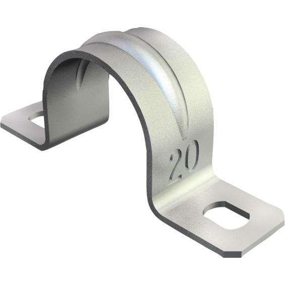 Sadel 32mm Galvanisert