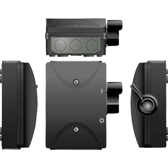 Sikkerhetsbryter SA 316 DS Sort