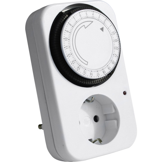 Namron Timer Tidsur Mekanisk 16A 1402705 Koblingsur/Timer