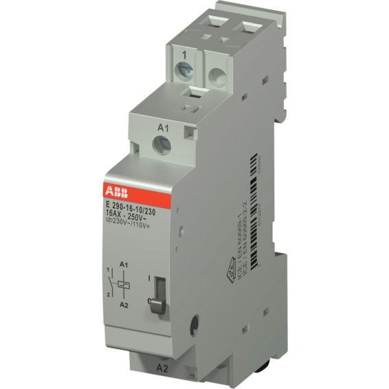 Impulsrele E290-16A-10/230 1NO-230VAC/110VDC ABB