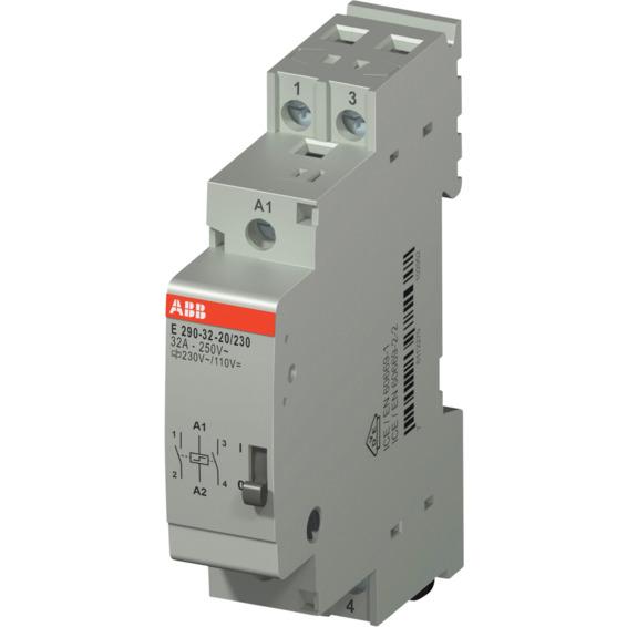Impulsrele E290-32A-20/230 2NO-230VAC/110VDC ABB