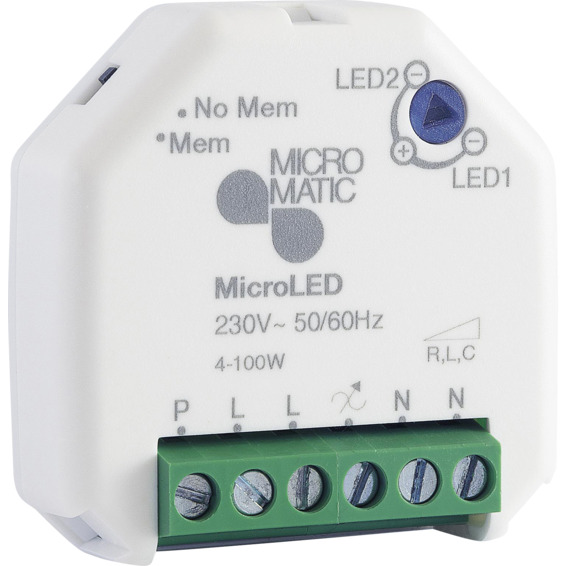 Dimmer MicroLED 4-100W Micro Matic