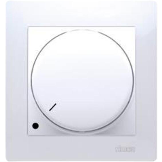 Simon Dimmer LED 2-pol Hvit