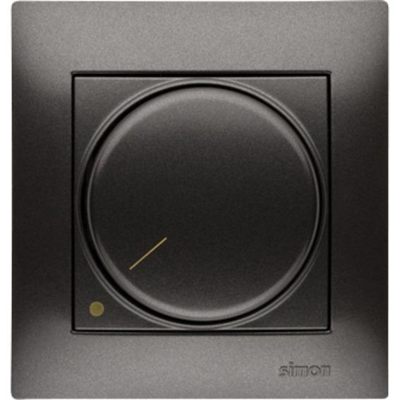 Simon Dimmer 2-pol 20-315W el.trafo/230V Halogen Antracit