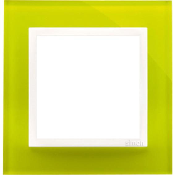 Simon 1-Hulls glass ramme Lime Sorbet