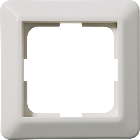 Kombinasjonsplate 1-hull RS16 L571 Hvit Elko