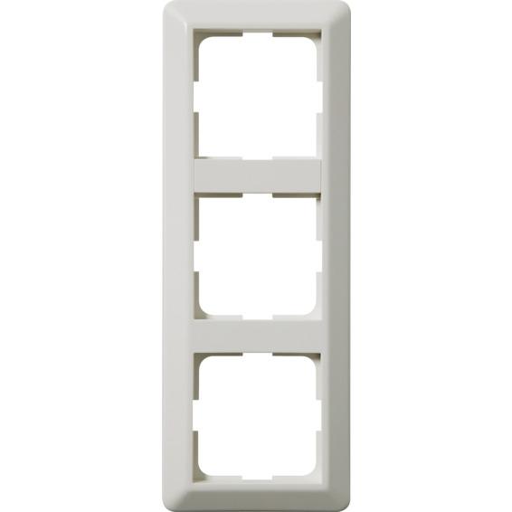 Kombinasjonsplate 3-hull RS16 L573 Hvit Elko