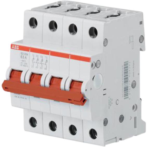 Lastbryter modulær SD204 63A-4P ABB