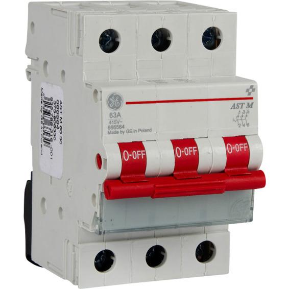 LAB 63-4 Lastbryter.I AUT.STR. 4Pol 63A 4 moduler