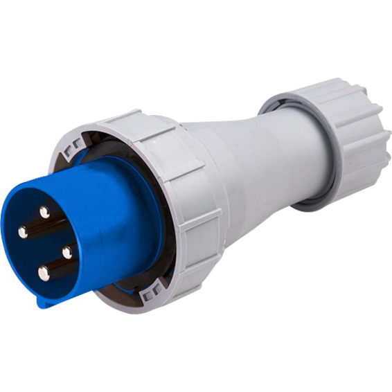Støpsel 63A 3Pol+J 230V 9H IP67. 363-9 HTN0341-9
