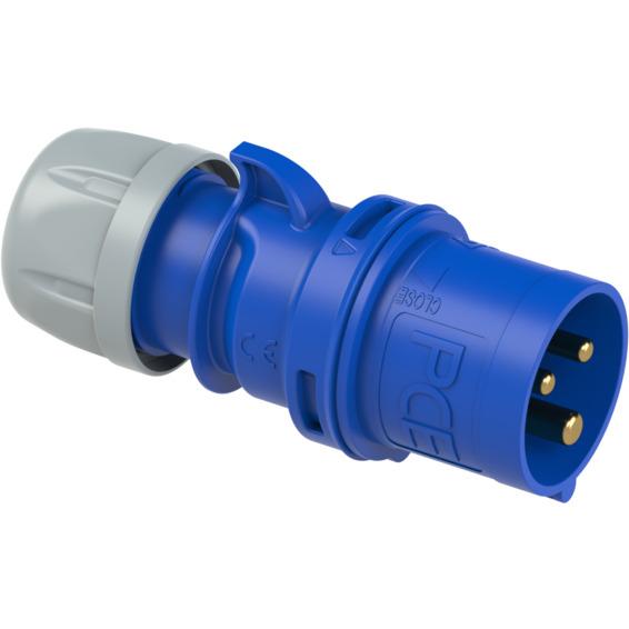 St�psel 32A 2Pol+J 230V 6H IP44
