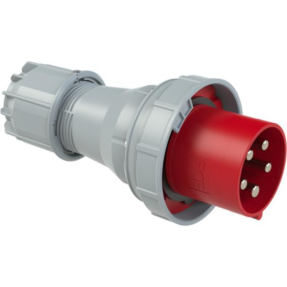 St�psel 125A 3Pol+N+J 400V 6H IP67