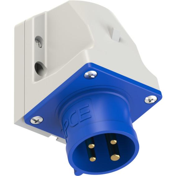 Apparatinntak IP44 16A 3P+J 230V 9H